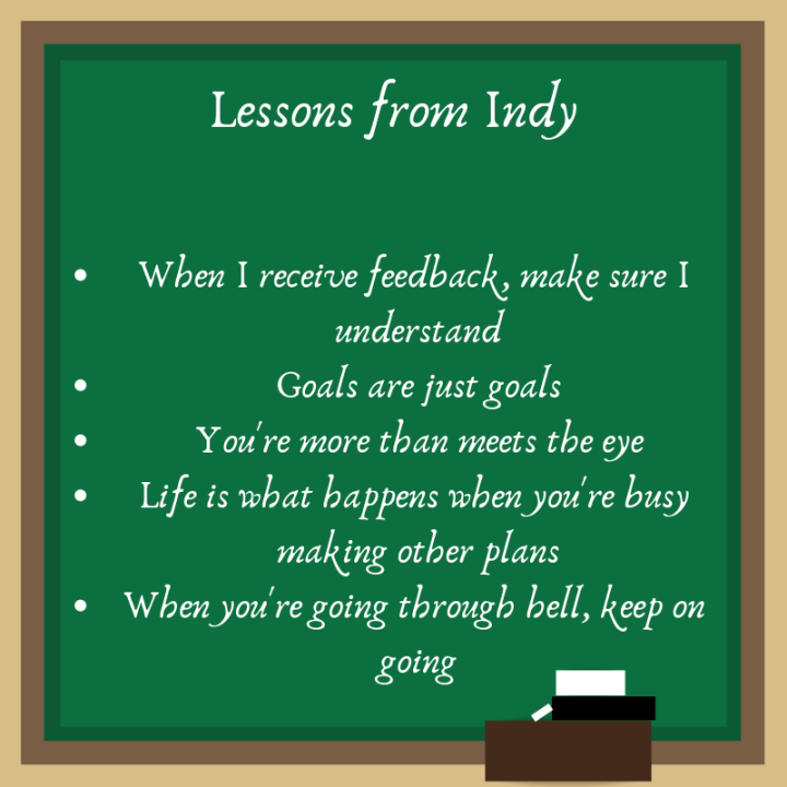 lessons from indy